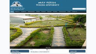 Woldia University - Educate Ethiopia Educate Ethiopia