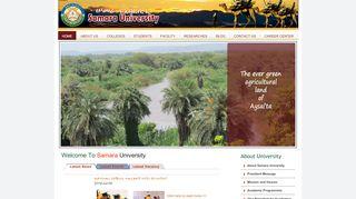 Samara University - Educate Ethiopia Educate Ethiopia