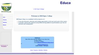 2020 open college - Educate Ethiopia Educate Ethiopia